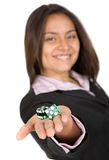 Business gambling Royalty Free Stock Photography