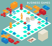 Business game Royalty Free Stock Image