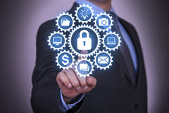 Business Gear Concept Security Stock Photography