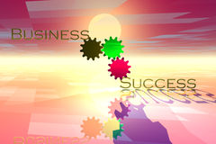 Business Gears Royalty Free Stock Images