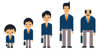 Business generations Royalty Free Stock Image