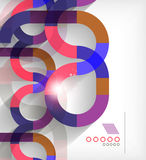 Business geometric shape abstract background Royalty Free Stock Photos