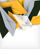 Business geometric shape abstract background Royalty Free Stock Photography