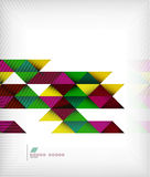 Business geometric shape background - triangles. This is file of EPS10 format Royalty Free Stock Images