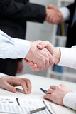 Business gesture Royalty Free Stock Photo