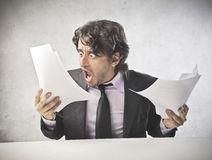 Business Getting Crazy Royalty Free Stock Photography