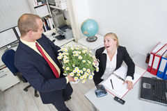 Business gift Royalty Free Stock Photography