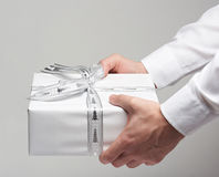 Business gift box present Stock Photography