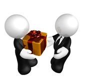 Business gift or bribe Stock Photo
