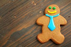 Business gingerbread Stock Photo