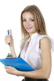 Business Girl Royalty Free Stock Photography