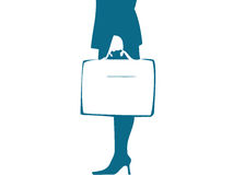 Business girl Stock Image