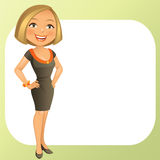 Business Girl royalty free stock images