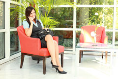 Business Girl - young professionals Stock Image