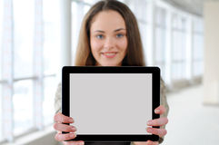 Business girl Royalty Free Stock Photo