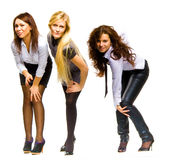 Business girls Royalty Free Stock Images
