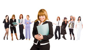 Business girls Stock Photo