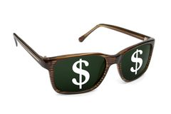 Business glasses Stock Images