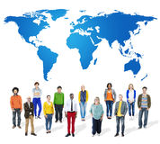 Business Global Collaboration Teamwork Concept Stock Photo