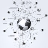 Business Global Connections Royalty Free Stock Photo