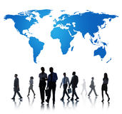 Business Global Team Collaboration Connection Concept Royalty Free Stock Photos