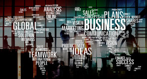 Business Global Teamwork Ideas Success Marketing Analysis Concep Royalty Free Stock Image