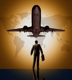 Business global traveler Stock Images