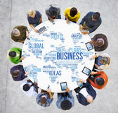 Business Global World Plans Organization Enterprise Concept Royalty Free Stock Photography