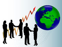 Business Globalization Royalty Free Stock Images