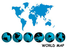 Business globe. Vector illustration of business globe Royalty Free Stock Images