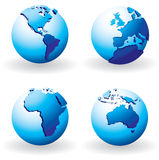 Business globes Stock Photo
