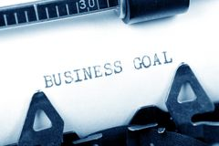 Business Goal Stock Photo