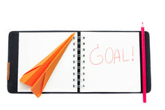 Business goal concept Stock Images