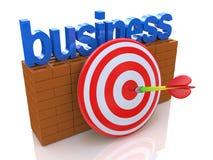 Business goal Royalty Free Stock Photos