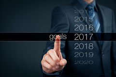 Business goals for 2017 Royalty Free Stock Images