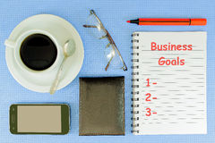 Business Goals Royalty Free Stock Photo