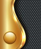 Business gold background,. Vector illustration Royalty Free Stock Image