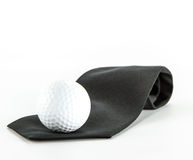 Business golf ball Royalty Free Stock Image