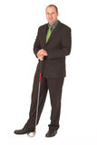 Business golfer #3 Royalty Free Stock Image