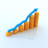 Business Graph Royalty Free Stock Image