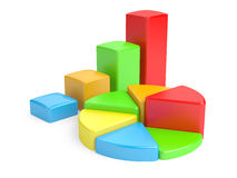 Business Graph. Stock Photo
