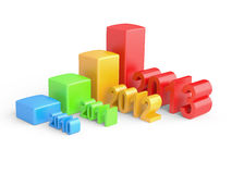 Business Graph. Stock Photos