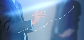 Free Business Graph Stock Image - 49678261