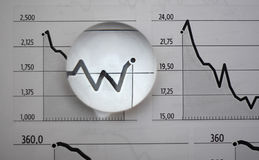 Business Graph Stock Image