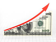 Business Graph Bar Stock Image