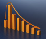 Business Graph Bar Stock Photo