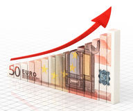 Business Graph Bar Royalty Free Stock Image
