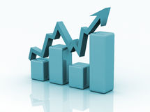 Business graph, chart, diagram Stock Photos