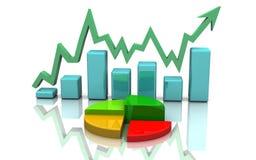 Business graph, chart, diagram Stock Photo