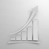 Business graph chart paper Stock Photos